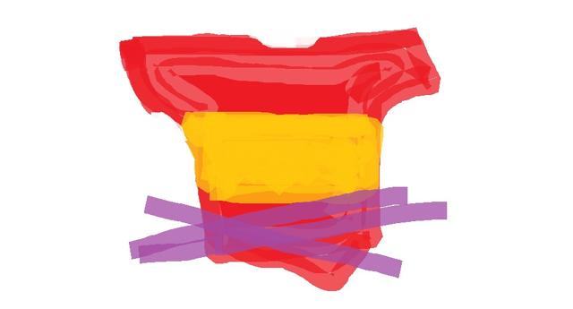 La bandera española: de camiseta a trapo, pasando por pijama...