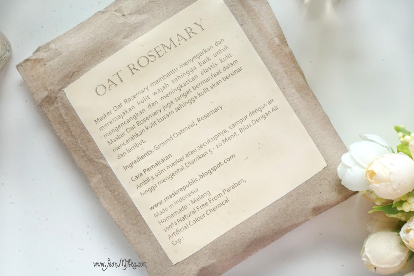mask, homemade, skin care, rosemary, oat, review
