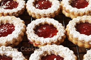 Resep Kue Linzer Cookies