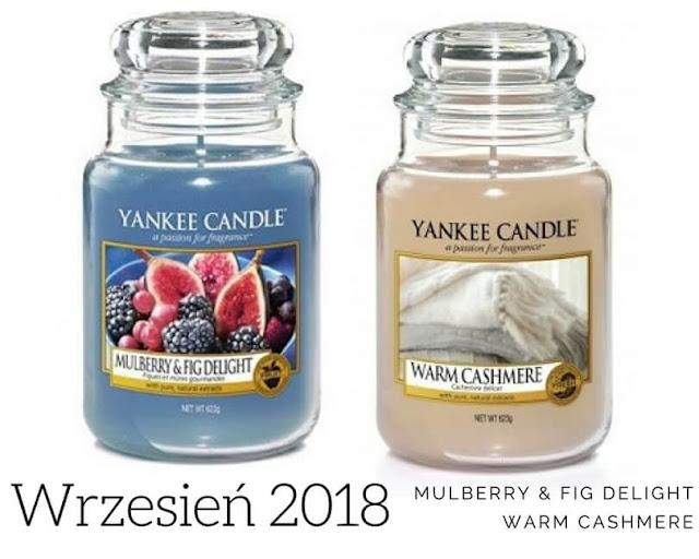 zapach miesiąca yankee candle wrzesień 2018