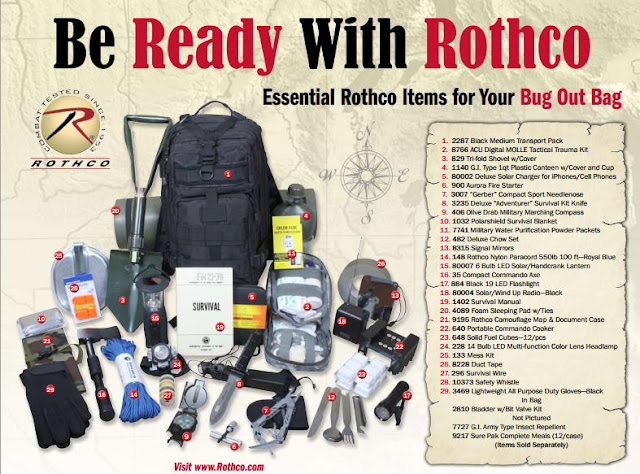 Rothco S Camobloge Everything You Need To Build A Bug Out