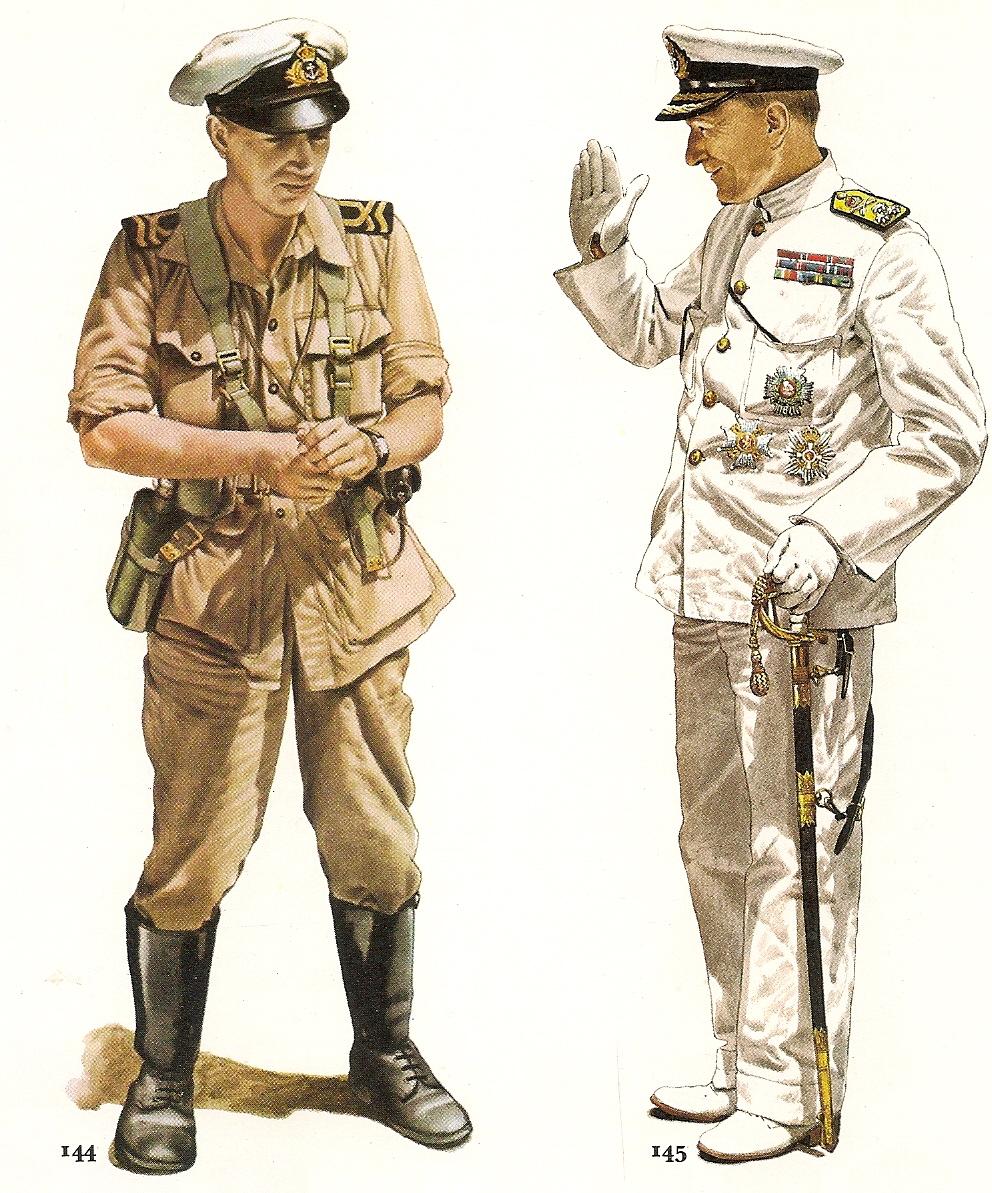 uniformes militares de la segunda guerra mundial parte 1