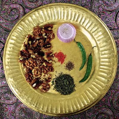 Doon Chetin Kashmiri Walnut Chutney recipe