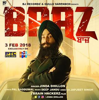Baaz Song Lyrics – Jinda Dhillon Song