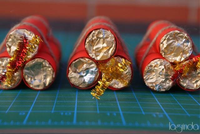 DIY bomba dinamita chocolate