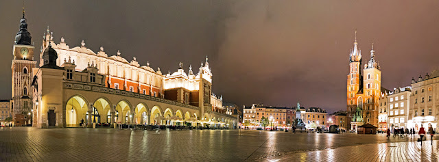 cracovia panorama