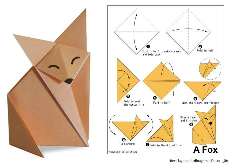 origami fuchs anleitung my blog. Black Bedroom Furniture Sets. Home Design Ideas
