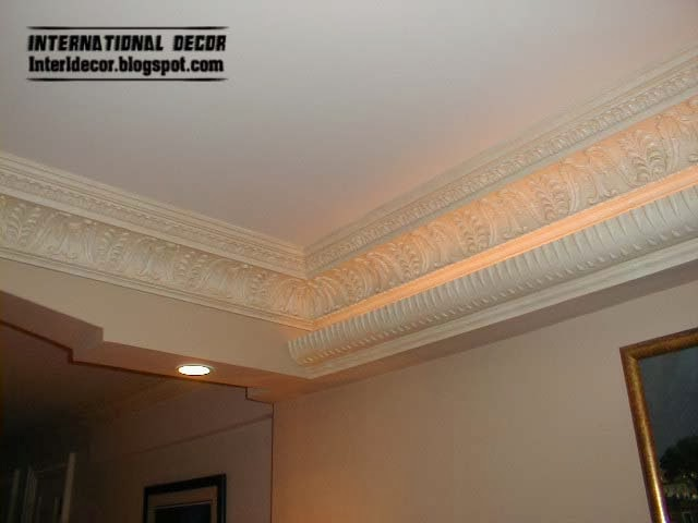 Plaster Cornice Top Ceiling Cornice And Coving Of Plaster And Gypsum International Decoration