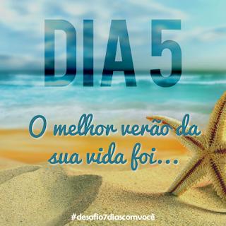 [Divulgação] #desafio7diascomvocê - dia 5