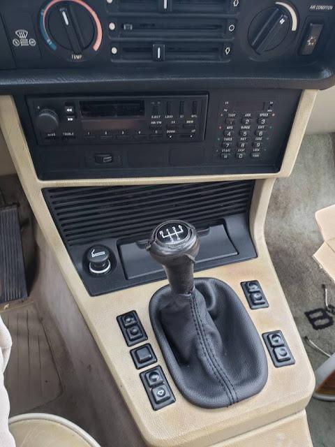 Daily Turismo Blue Plate E24 1983 Bmw 633csi