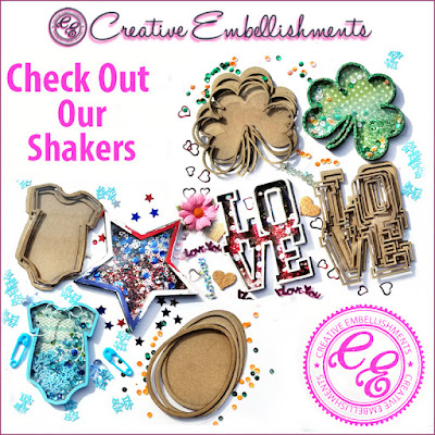 Creative Embellishments Shakers