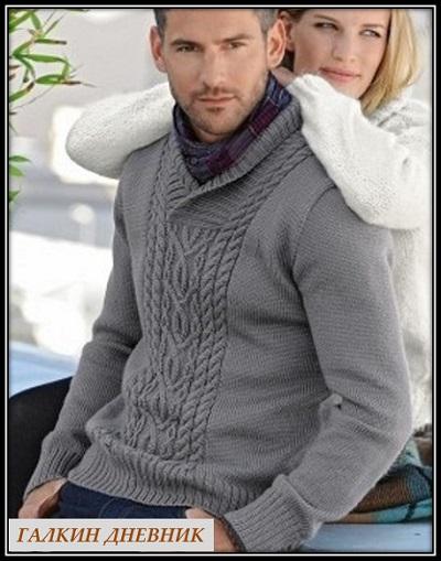 mujskoi-pulover-spicami | strikking | بافندگی | dzianie | tricô | tricotare | การถัก