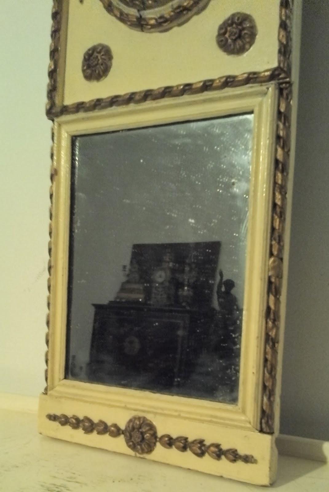 trumeau ancien petit trumeau d co de style louis xvi miroir. Black Bedroom Furniture Sets. Home Design Ideas