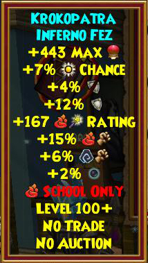 Best Fire Gear (Level 120+) | Wizard101