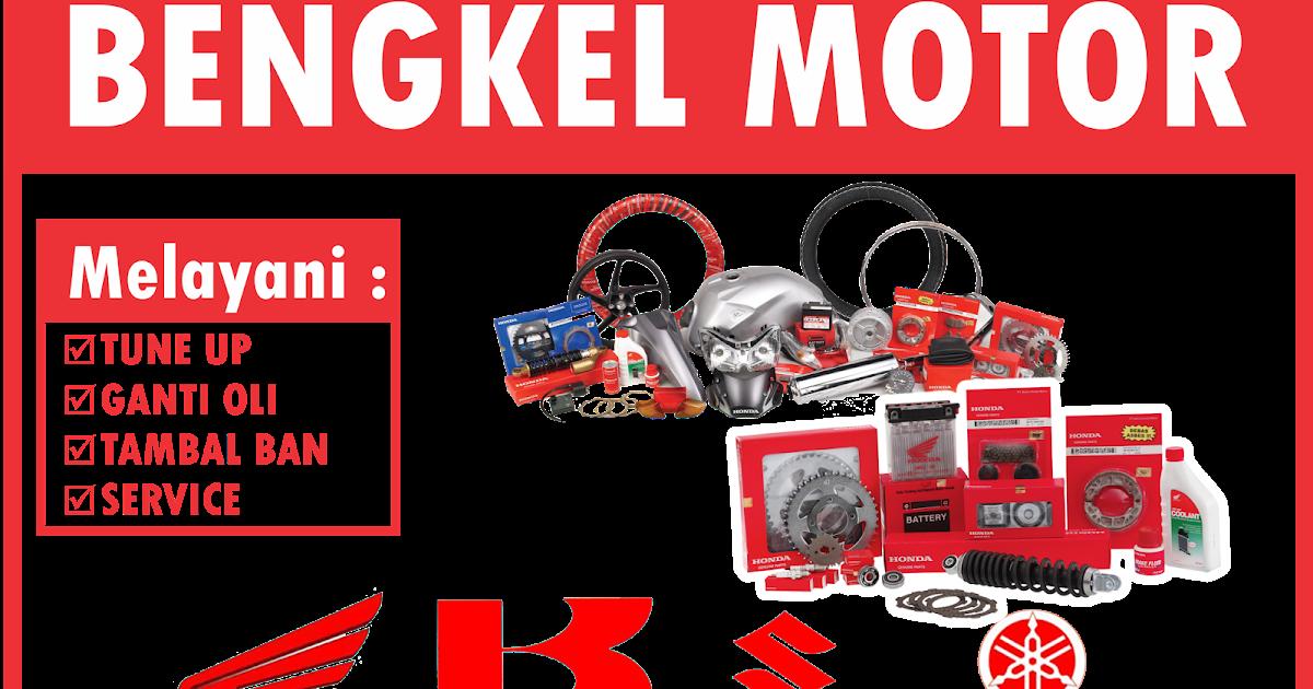 Aksesoris 55+ Desain Spanduk Bengkel Motor