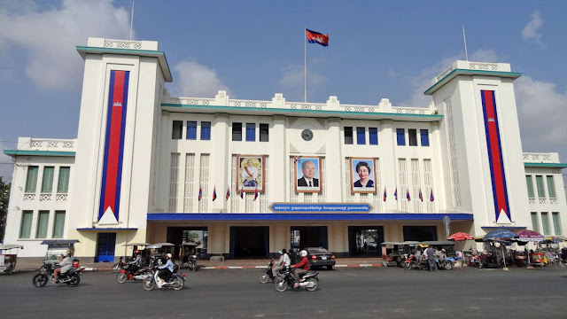 Train station Phnom Penh, Cambodia