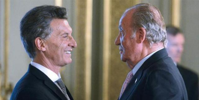 No nos representan: repudian la presencia de Juan Carlos de Borbón en Argentina
