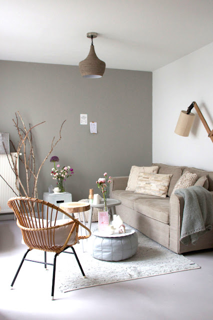 Soft tones & raw materials