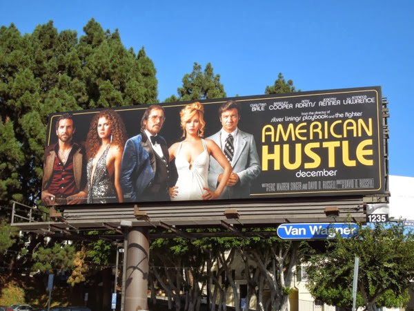 American Hustle movie billboard