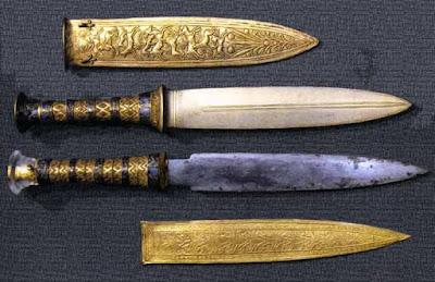 O punhal de Tutancâmon seria feito com materiais de outros lugares do Cosmos