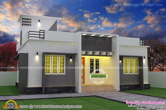Single floor home in Kerala