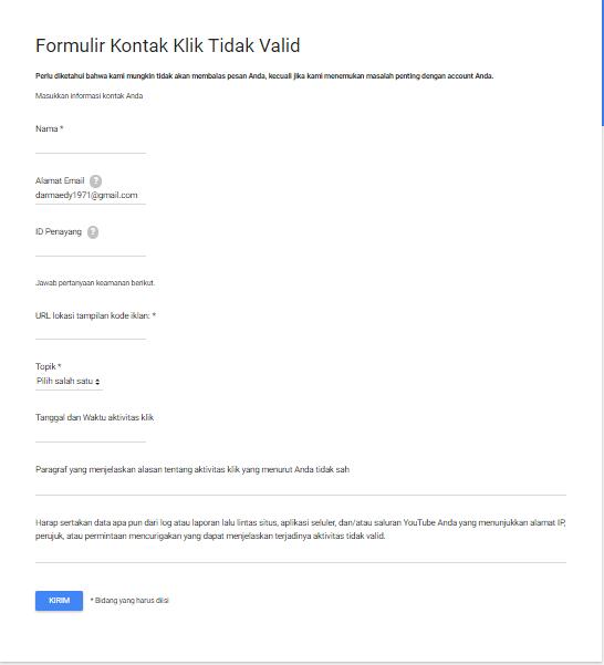 Solusi Cara Mengatasi Tidak Sengaja Klik Iklan Sendiri Google Adsense