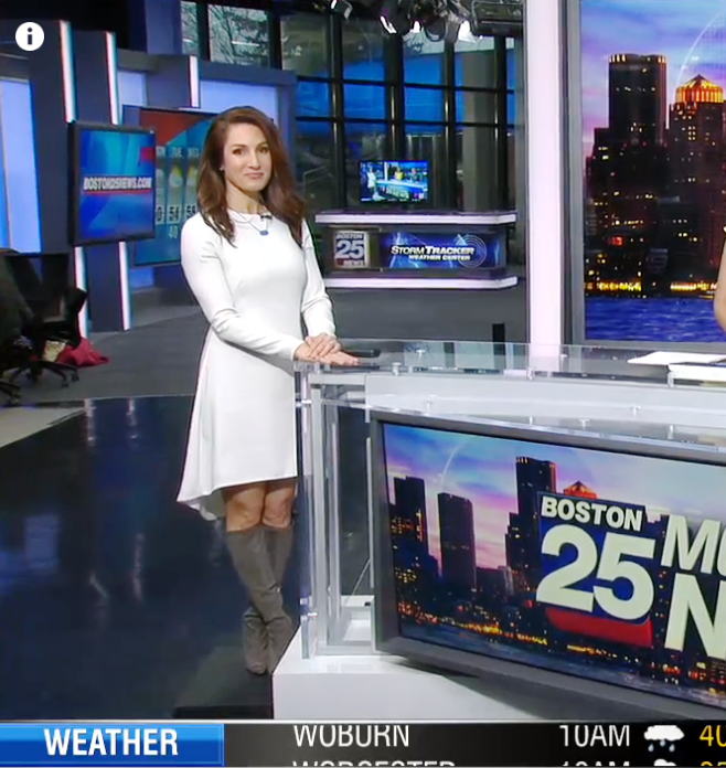 THE APPRECIATION OF BOOTED NEWS WOMEN BLOG : UNIVISION
