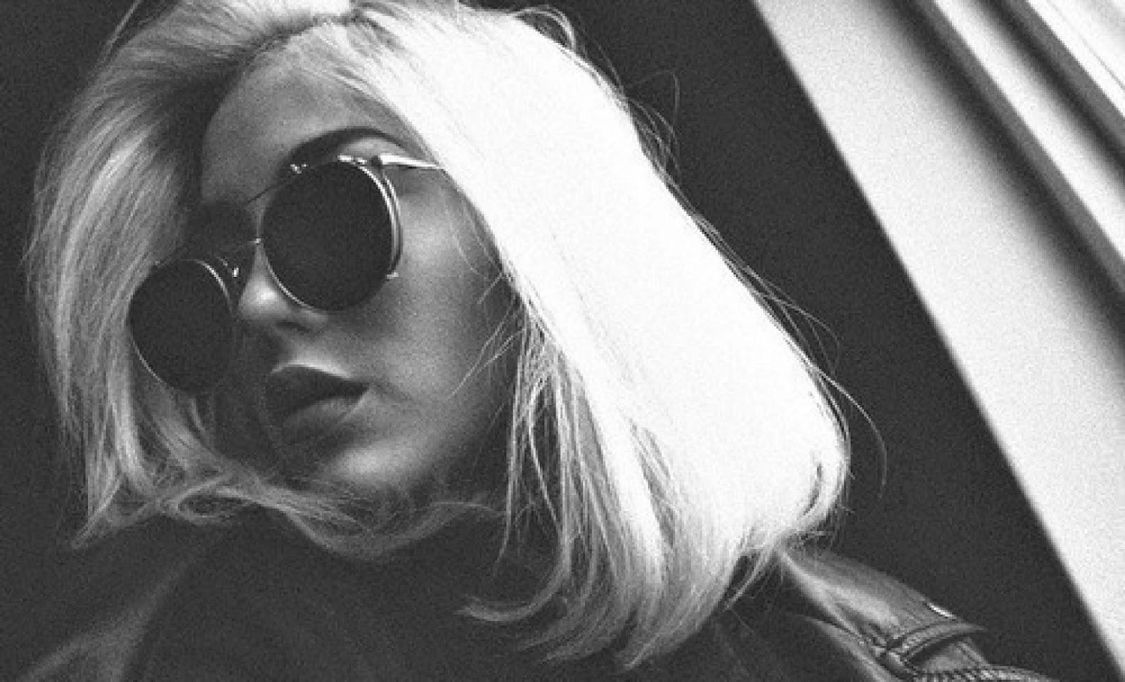 cool image blonde bleach bob sunglasses nicole richie inspiration