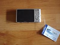 Sony Cyber-Shot DSC-W610 back