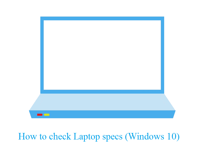 Cek spek laptop windows 10