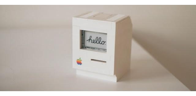 Programador recria Macintosh clássico usando peças de LEGO e um Raspberry Pi.