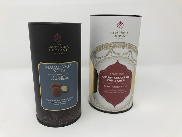 Giveaway: East India Company Nuts and Biscuits