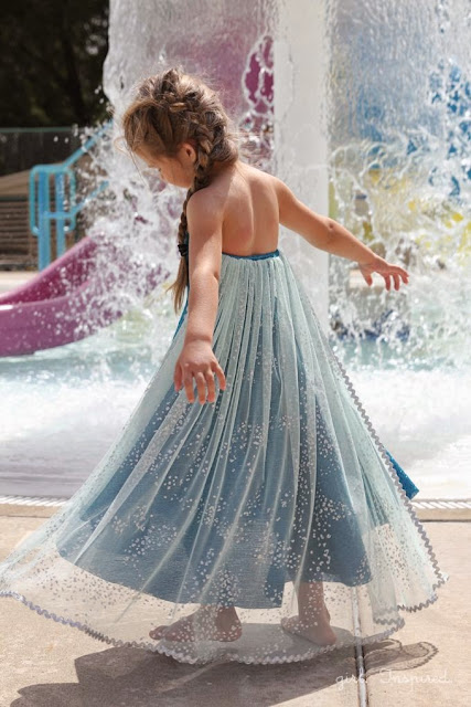 Elsa Disney Frozen Dress #DIY