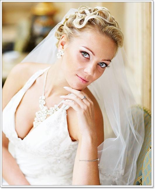 Brautfrisuren für kurze Haare 2016