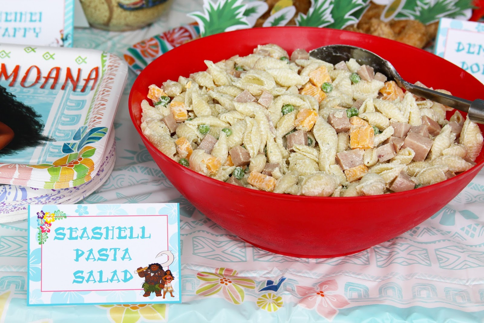 This Pasta Salad Is Creamy And Flavorful With A Dressing Of Ranch Seasoning Sour Cream Mayo I Also Add Peas Cheese You Guessed It Spam