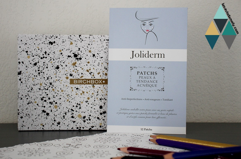 patch peaux acnéiques Joliderm avis