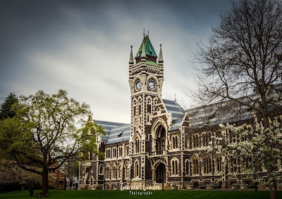 Clouds, Dunedin, New Zealand, NZ, Otago, Otago University