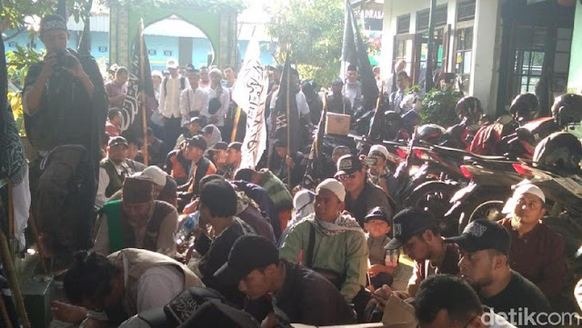Aksi Bela Kalimat Tauhid Menjalar ke Yogyakarta