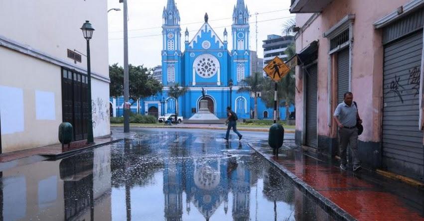 Los distritos más afectados con la lluvia en Lima fueron del norte y del este, informó el SENAMHI - www.senamhi.gob.pe