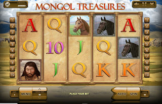Mongol Treasures Main Screen