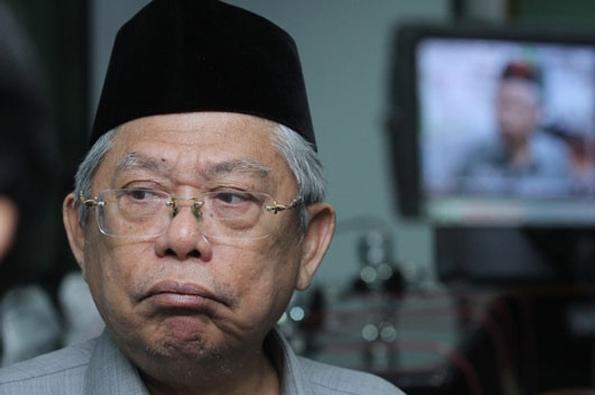 Ma'ruf Amin: Perda Syariah Tidak Ada, Adanya Perda Ketertiban…
