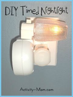 DIY TImed Nightlight