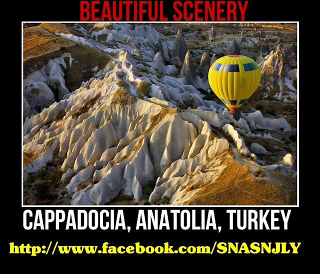 Cappodocia, Anatolia, Turkey,Beautiful scenery