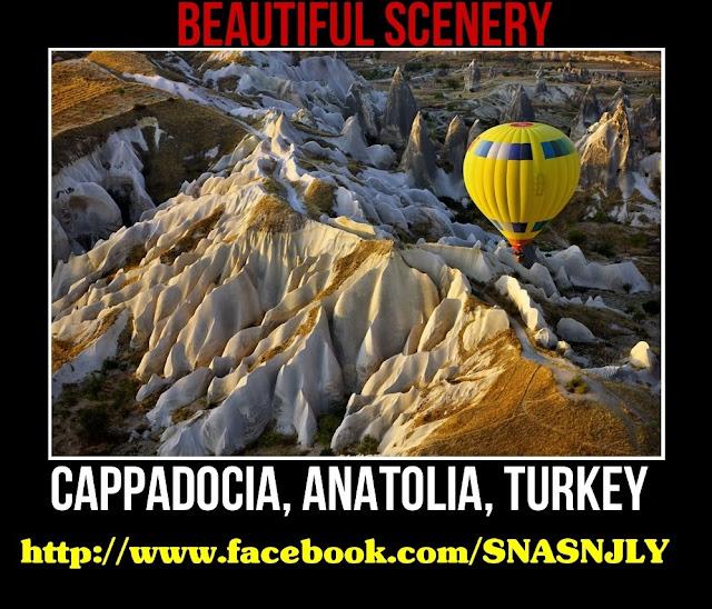 Cappodocia, Anatolia, Turkey,Beautiful scenery