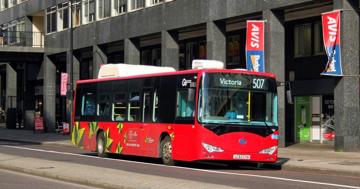 Focus Transport Byd Electric Buses For Nottingham