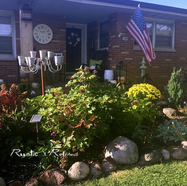 Fall Garden Tour showcasing gorgeous color and the best Fall Perennials