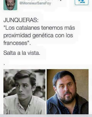 Junqueras, los catalanes tenemos más proximidad genética con los franceses, salta a la vista