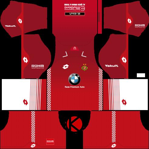0297ecd25 Kelantan FA Kits 2018 - Dream League Soccer Kits - Kuchalana