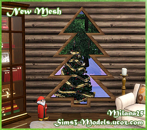 Sims 3 Christmas Tree.My Sims 3 Blog Christmas Tree Window By Milana25