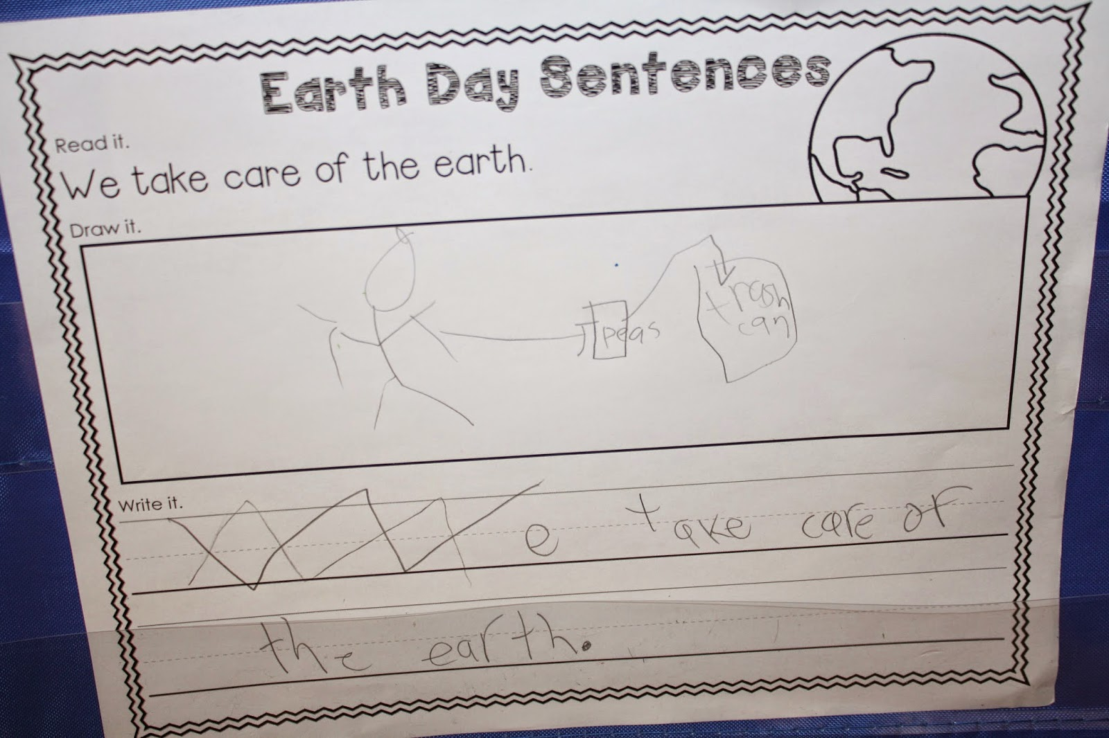 Differentiation Station Creations Trade And Grade Earth Day Love